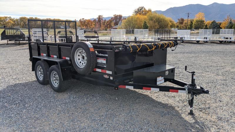 New! 2021 C&B 6x12: 7k Dutility Hybrid Dump Trailer