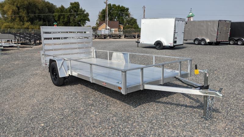 New! 2022 Cargo Mate 6.5x14 All- Aluminum Trailer