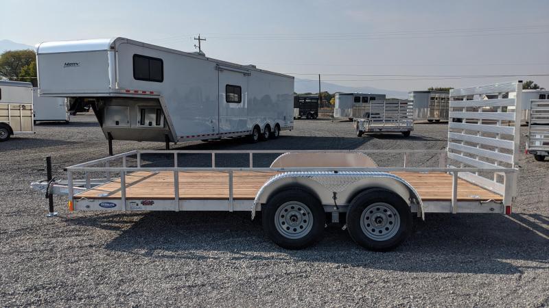 New! 2021 Everlite 7x16' All-Aluminum Utility Trailer