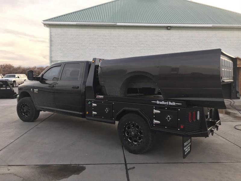 Bradford Built Steel 4-Box Utility Full Skirted Truck Bed