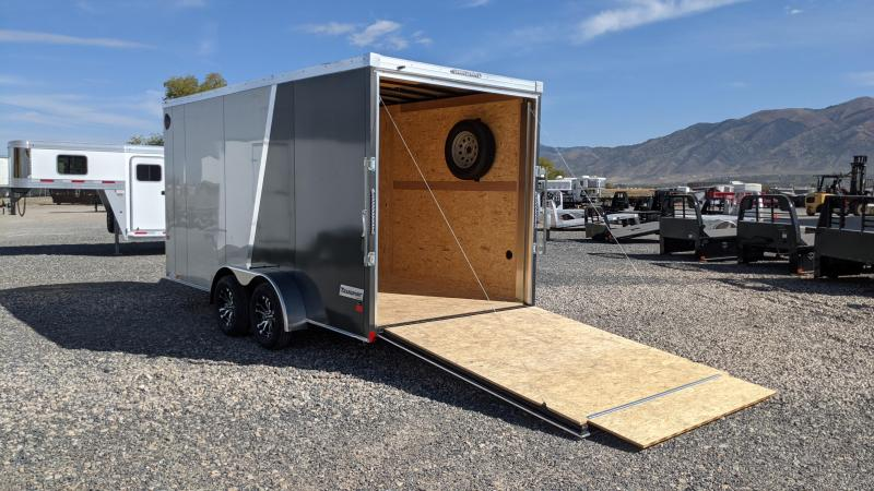 "New! 2022 Haulmark 7x16 Transport Enclosed Trailer 7'6"" Interior Height"