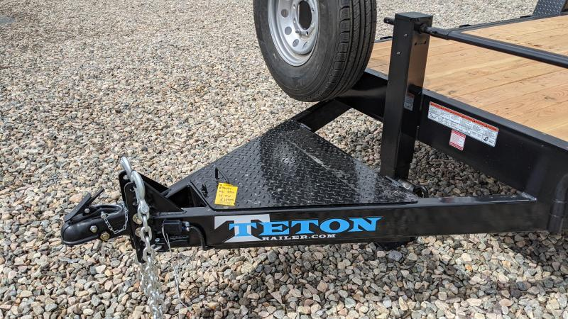 New! 2021 Teton 20' 3/4 Gravity Tilt Trailer