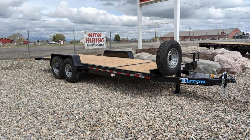 New! 2021 Teton 20' 3/4 Gravity Tilt Trailer
