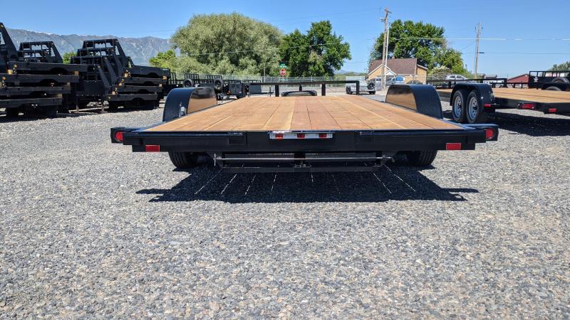 New! 2021 C&B 18' 7K Economy Car Hauler / Equipment Trailer