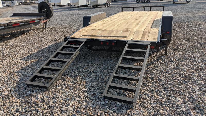 2021 C&B 7x18 10k Car Hauler/Equipment Trailer