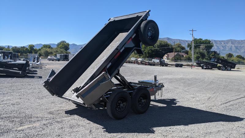 """New! 2022 MAXXD D6X - 60""""x10' 10k Scissor Lift Dump Trailer"""
