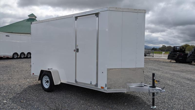 New! 2022 EverLite 5.5x12 All-Aluminum Enclosed Cargo Trailer
