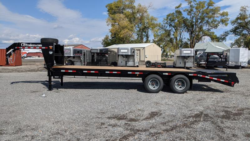 New! 2021 C&B 25' 24k Gooseneck Equipment Trailer