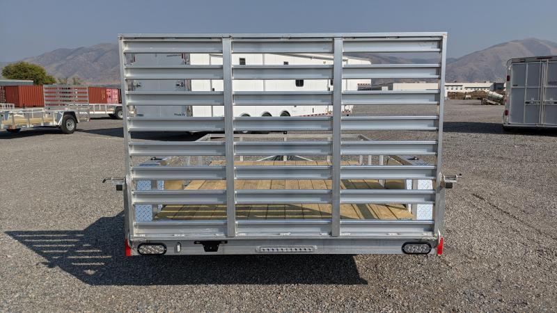 "New! 2021 Everlite 6'6""x10' All-Aluminum Utility Trailer"