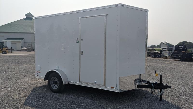 New! 2022 Cargo Mate 7x12 Enclosed Cargo Trailer w/ 5.2k Axle