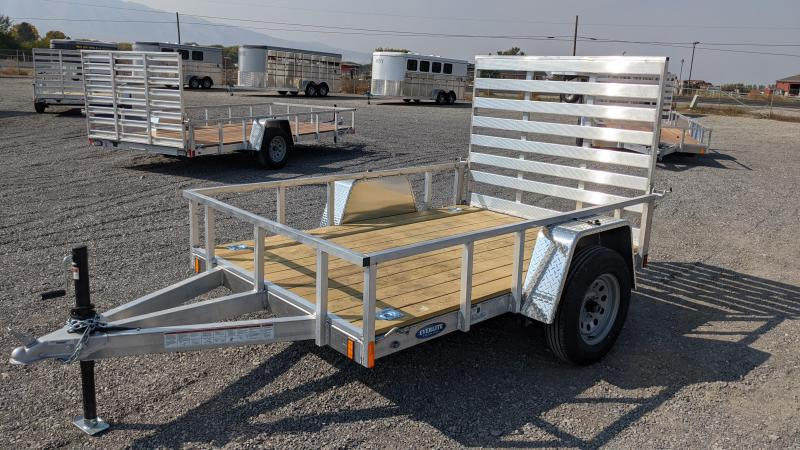 "New! 2021 Everlite 5'6""x8' All-Aluminum Utility Trailer"