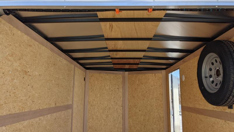 New! 2021 Haulmark 7x12 Passport Cargo Trailer W/ Brakes