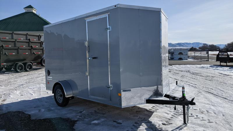 New! 2021 Haulmark 7x12 Passport Cargo Trailer W/ Brakes