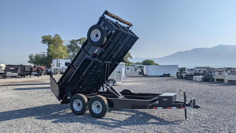 "New! 2021 C&B 7x12-14k Dump Trailer W/ 26"" Sides"