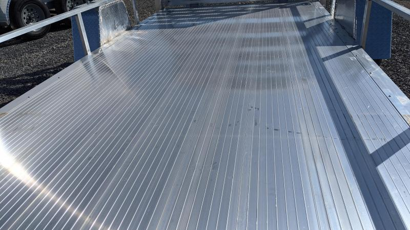 New! 2021 Cargo Mate 6.5x14 All- Aluminum Utility Trailer