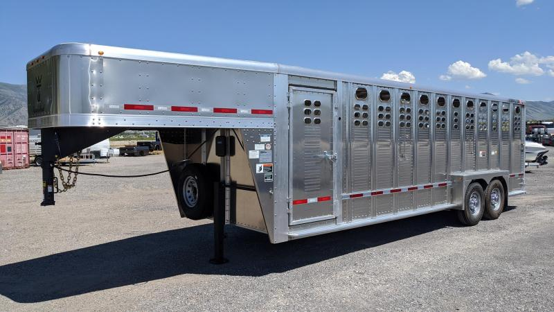 2021 Wilson 24' Ranch Hand 5700 Livestock Trailer