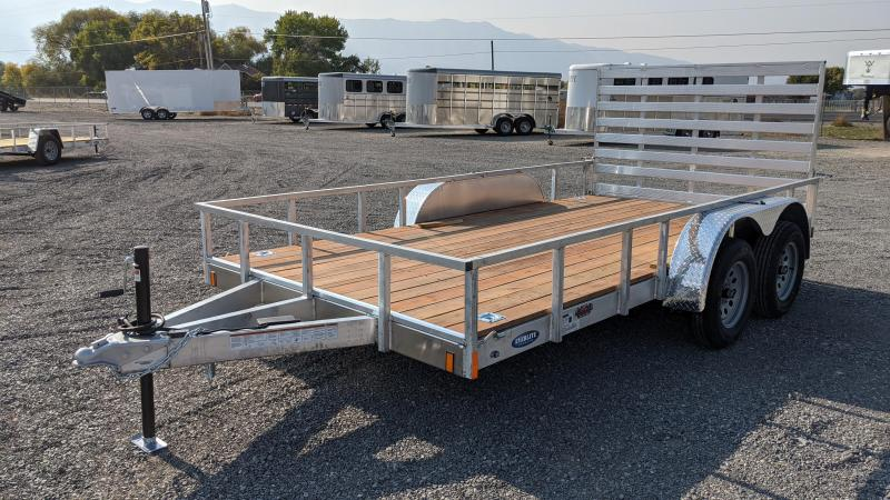 New! 2021 Everlite 7x14' All-Aluminum Utility Trailer