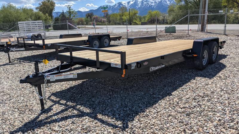 New! 2021 C&B 20' 10K Car Hauler / Equipment Trailer