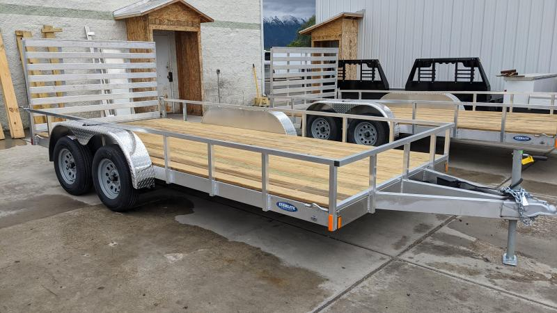 2021 EverLite Inc. 16' Tandem Axle Utility Trailer