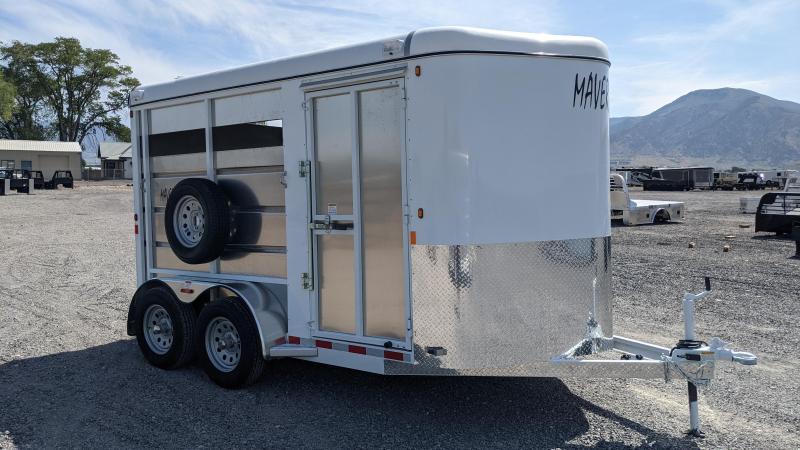 New! 2022 Maverick 13' 2 Horse/Stock Combo Trailer