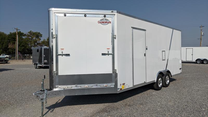 New! 2021 Redline 8.5x24 All-Aluminum Tri-Sport Enclosed Trailer
