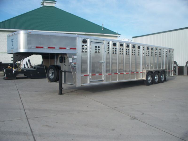 2021 Wilson Trailer Company 7X30 STOCK Livestock Trailer