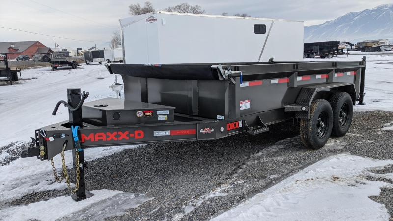 New! 2021 MAXXD 7x14 14k I-Beam Dump Trailer