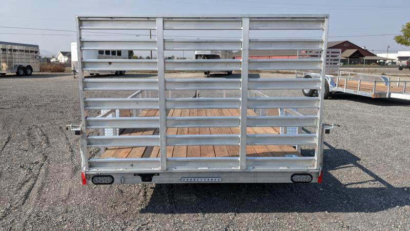 "New! 2021 Everlite 6'6""x14' All-Aluminum Utility Trailer"
