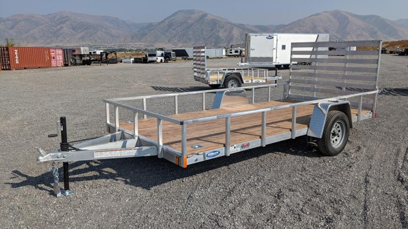 "New! 2021 Everlite 6'6""x14' All-Aluminum Utility Trailer"