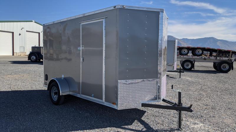 New! 2021 Cargo Mate 6x12 Enclosed Trailer