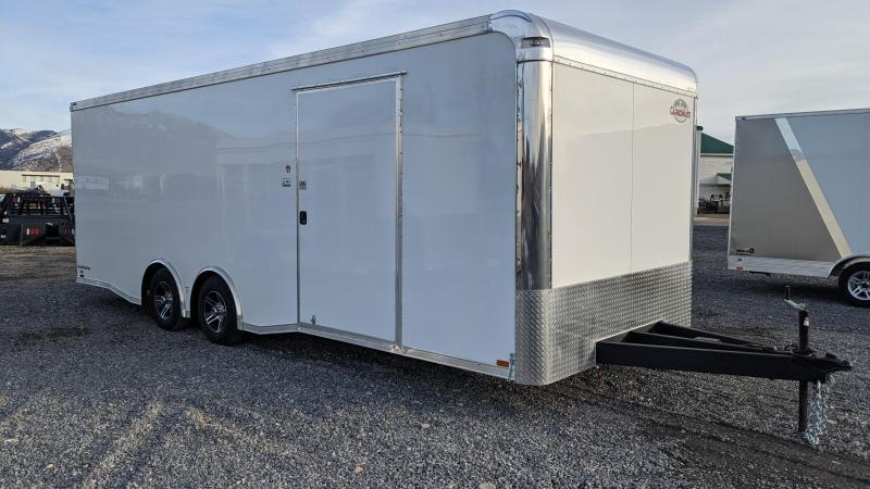 New! 2021 Cargo Mate 8.5x24 Eliminator Car / Racing Trailer