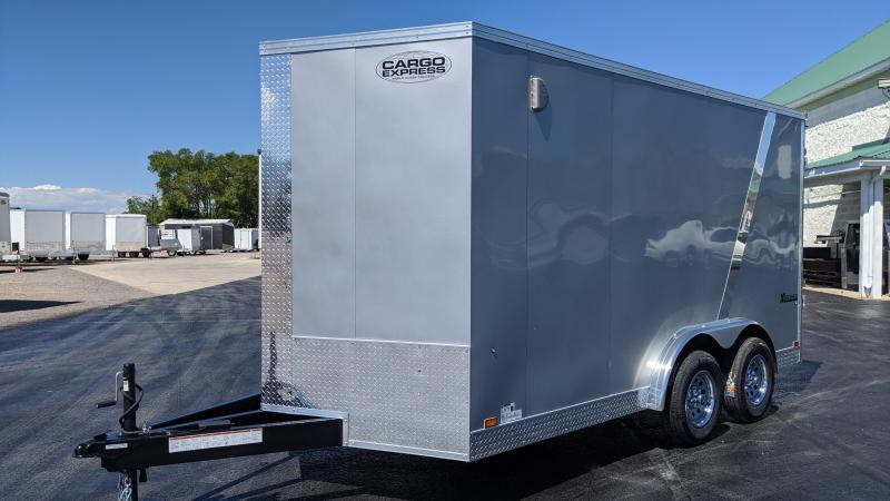 2021 Cargo Express 7.5x14 Cargo Trailer w/ 7' Interior