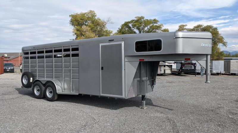 New! 2022 Travalong Scout 4-Horse Gooseneck Trailer