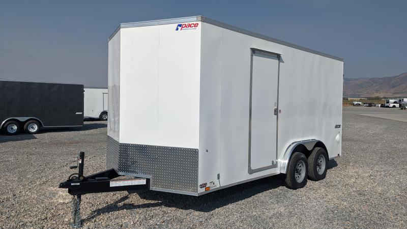 New! 2021 Pace American 7.5X16 Journey Enclosed Trailer