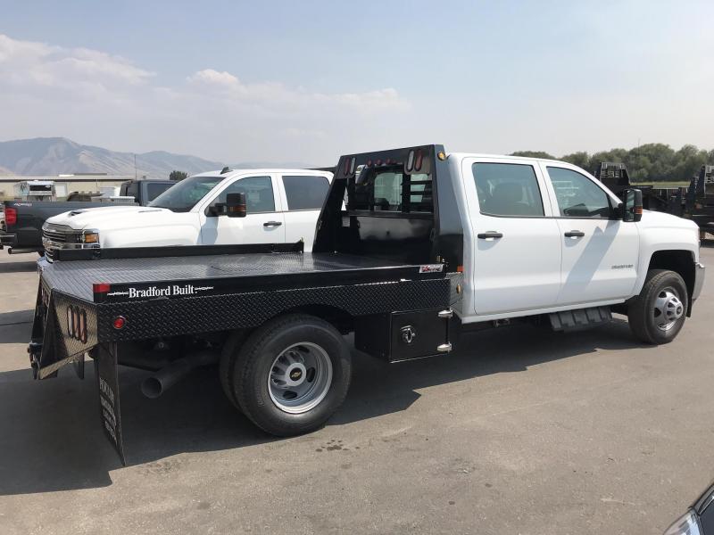 Bradford Built Steel Workbed For Dual Wheel Long Bed Truck