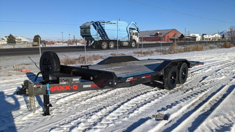 New! 2021 MAXXD 20' T6X Power Tilt Equipment Trailer
