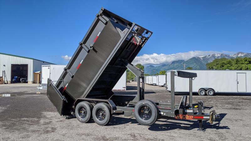 2020 MAXXD ROX - 7X14' 14K Roll-Off Dump Trailer