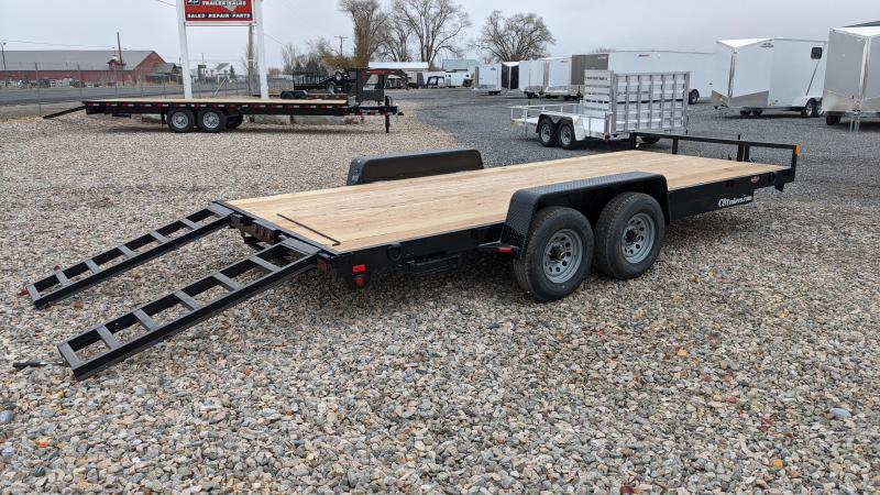 New! 2021 C&B 18' 10K Car Hauler / Equipment Trailer