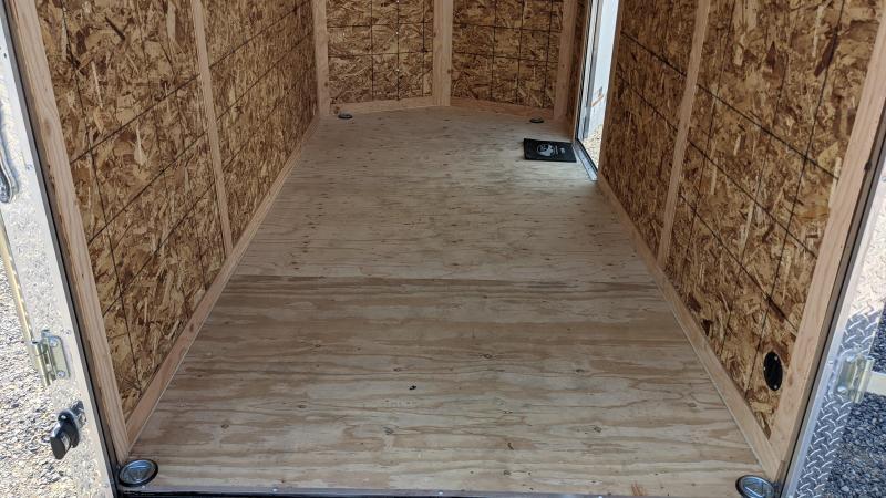 New! 2022 Cargo Mate 6x12 Enclosed Trailer w/ Ramp Door