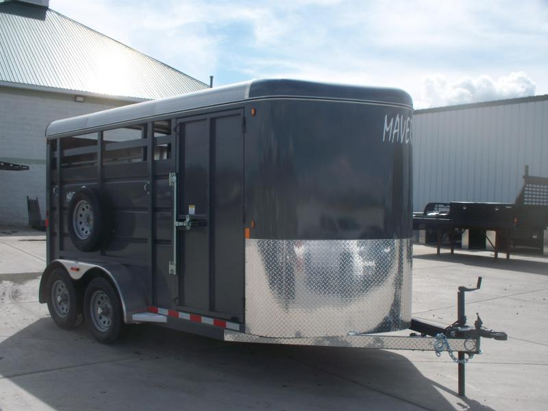 2020 Maverick 14' OPEN STOCK Livestock Trailer