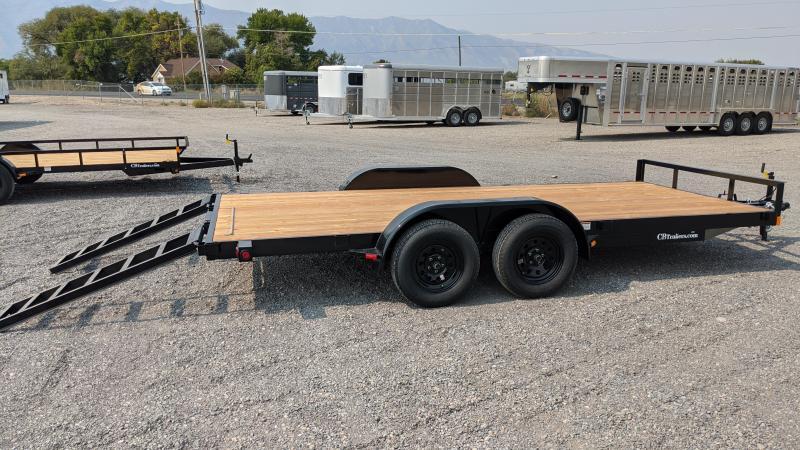 2021 C&B 16' 7K Economy Car Hauler / Equipment Trailer