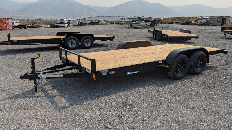 2021 C&B 16' 7K Economy Car Hauler / Equipment Trailer