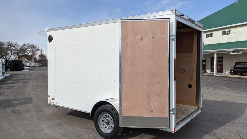New! 2021 Haulmark Passport 6x12 Enclosed Cargo Trailer