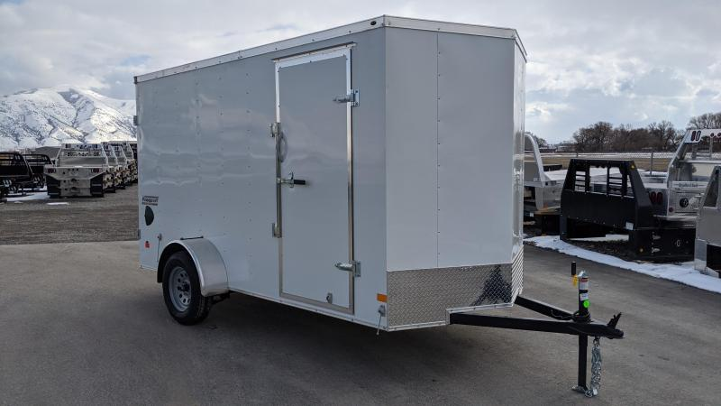 New! 2021 Haulmark Passport 6x12 Enclosed Cargo Trailer