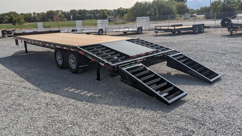 New! 2021 C&B 25' 14k Deck-Over Equipment Trailer