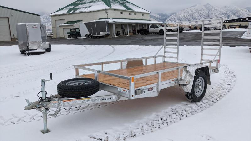 "New! 2021 C&B 5'6""x10'4"" Aluminum Side Kick Utility Trailer"