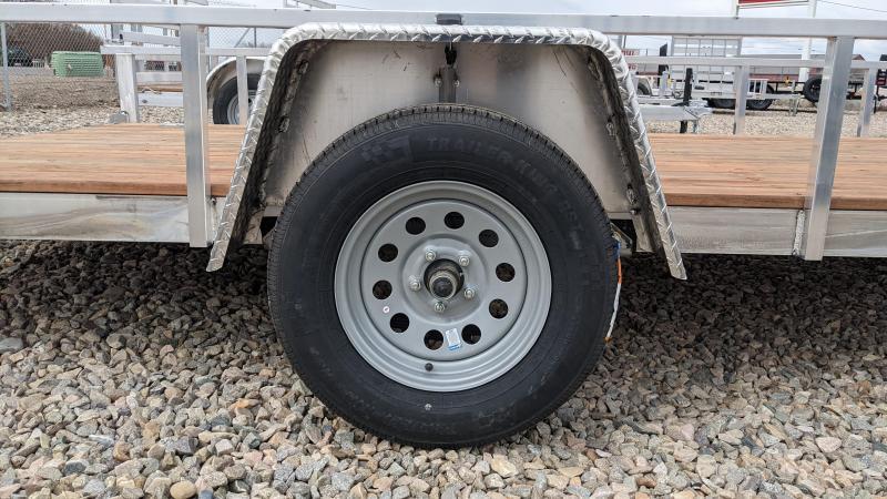 "New! 2021 Everlite 78""x14' All-Aluminum Utility Trailer"