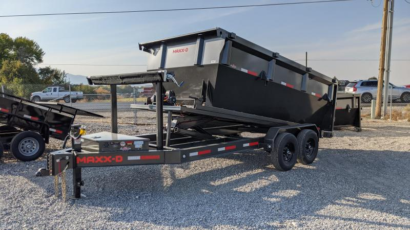 New! 2021 MAXXD ROX - 7X14' 14K Roll-Off Dump Trailer