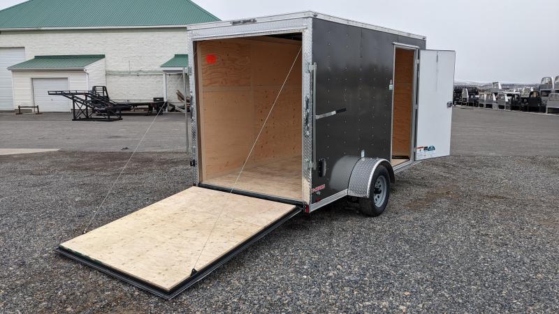 New! 2021 Cargo Mate 6x12 Enclosed Trailer w/ Ramp Door