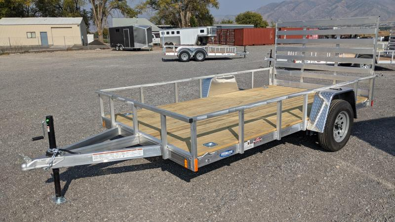 "New! 2021 Everlite 6'6""x12' All-Aluminum Utility Trailer"